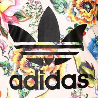 adidas - 超美品!!adidas Originals☆アディダス☆花柄ロングワンピ―ス