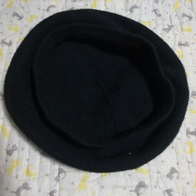 CECIL McBEE(セシルマクビー)のフェルト生地 ベレー帽 レディースの帽子(ハンチング/ベレー帽)の商品写真