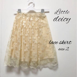 スイートルーム(SweetRoom)のリトルデイシー レース スカート(スカート)