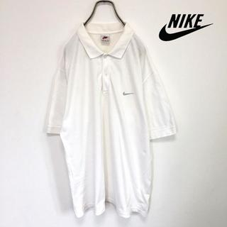 ナイキ(NIKE)の90s Nike ナイキ ポロシャツ 銀タグ ワンポイント(ポロシャツ)