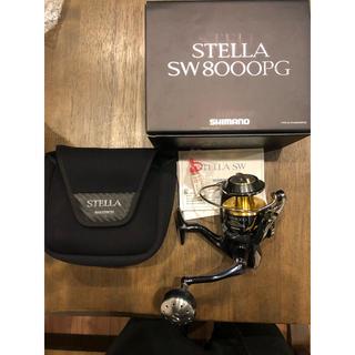 SHIMANO - ステラ sw 8000PG Stella シマノ スピニング ジギング