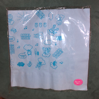 エンジェルブルー(angelblue)のエンジェルブルー 紙ナプキン 5枚(収納/キッチン雑貨)