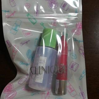クリニーク(CLINIQUE)のクリニーク CLINIQUE 拭き取り化粧水 クレヨン リップ(口紅)