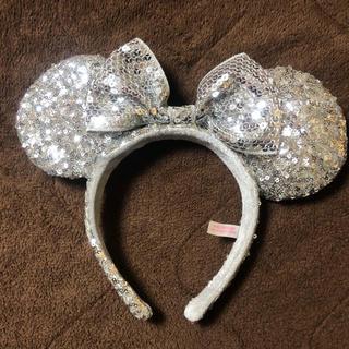 ディズニー(Disney)のディズニー ミニーちゃん カチューシャ スパンコール(カチューシャ)