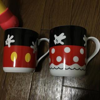 Disney - ミッキー&ミニー ペアマグカップ