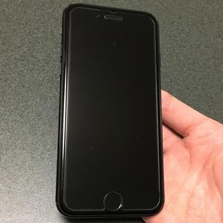 アイフォーン(iPhone)のSIMフリー iPhone7 128GB jetblack(スマートフォン本体)