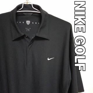 ナイキ(NIKE)のUSED品 NIKE GOLF Lサイズ 半袖ポロシャツ(ウエア)