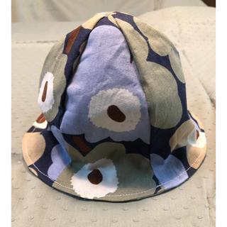 マリメッコ(marimekko)のハンドメイド マリメッコ チューリップ ハット ベビー リバーシブル(帽子)