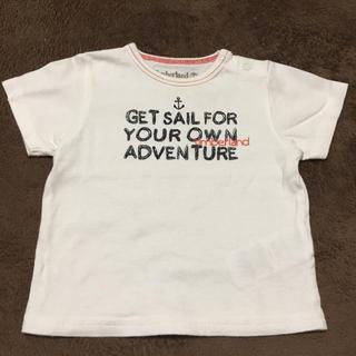 ティンバーランド(Timberland)の ティンバーランド ベビー 白 Tシャツ サイズ60 (Tシャツ)