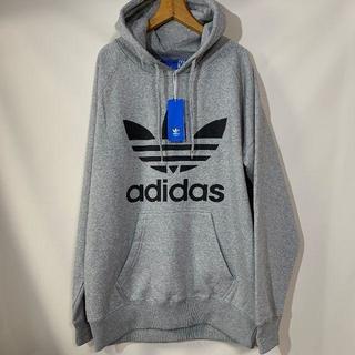 adidas - アディダス パーカー 灰色  未使用