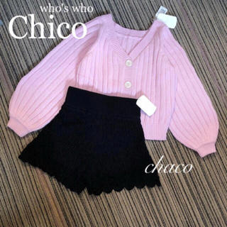 who's who Chico - 2点セット¥12744【chico】春コーデセット セットアップコーデ