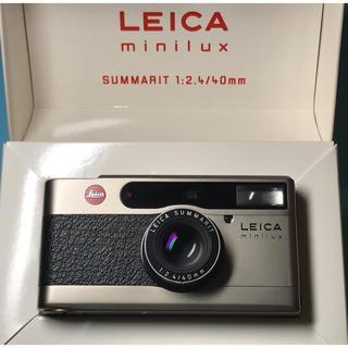 LEICA - 早い者勝ち! 貴重! 化粧箱一式 美品! Leica minilux