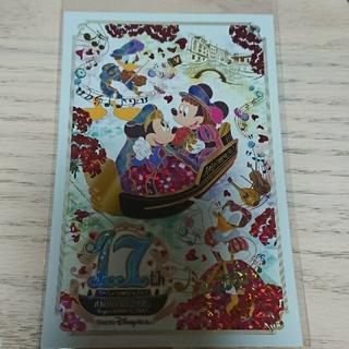ディズニー(Disney)のディズニーシー17周年 ポストカード(キャラクターグッズ)
