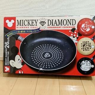 ディズニー(Disney)のミッキーダイヤモンドフライパン(鍋/フライパン)