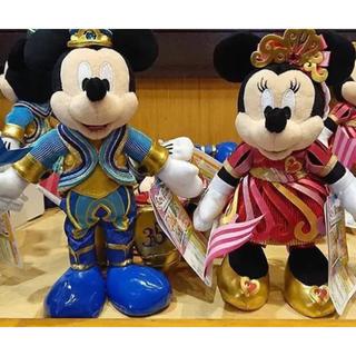 ディズニー(Disney)の新品♡ディズニーリゾート 35周年 ポージープラッシー ミッキー ミニー セット(キャラクターグッズ)