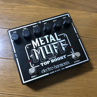 electro-harmonix  METAL MUFF(エフェクター)