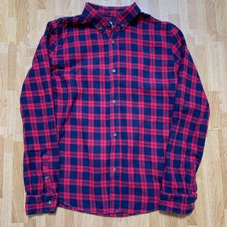 ザラキッズ(ZARA KIDS)のザラキッズ♡赤チェックシャツ(シャツ/ブラウス(長袖/七分))