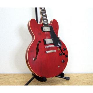 エピフォン(Epiphone)のEpiphone ES-335 PRO セミアコースティックギター チェリー(エレキギター)