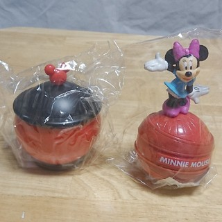 ディズニー(Disney)のディズニー ミッキー ミニー ノベルティ 非売品 貯金箱 小物入れ 未開封 美品(キャラクターグッズ)
