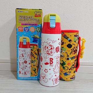 トイストーリー(トイ・ストーリー)の一点のみ❗新品 トイストーリー カバー付 ダイレクトステンレスボトル 580ml(水筒)