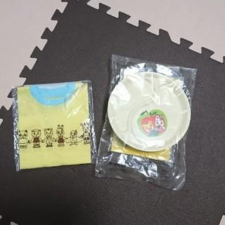 しまじろう 半袖Tシャツ&ランチプレート 新品(プレート/茶碗)
