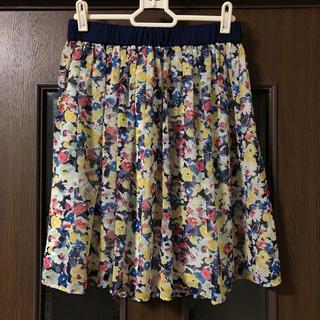 クローラ(CROLLA)の美品 crolla スカート(ひざ丈スカート)