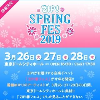 ノギザカフォーティーシックス(乃木坂46)のZIP 春フェス 3/28 アリーナ立見1枚(国内アーティスト)