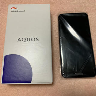 SHARP - 【新品】AQUOS Sense2/SHV43ブラック★