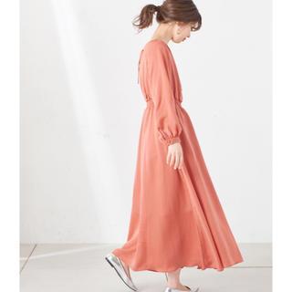 ナチュラルクチュール(natural couture)のnatural couture 変形シャーリングレディロングワンピ(ロングワンピース/マキシワンピース)