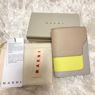 マルニ(Marni)のマルニ MARNI サフィアーノ 二つ折り ミニ 財布(財布)