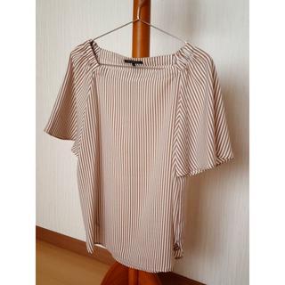 ニジュウサンク(23区)の23区ストライプ半袖38(シャツ/ブラウス(半袖/袖なし))