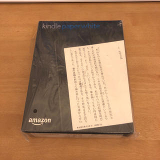 kindle paperwhite マンガ ブラック 新品未開封 (電子ブックリーダー)