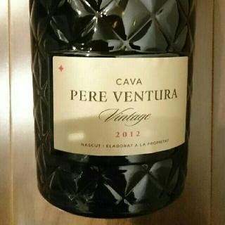 CAVA  PERE  VENTURA  スパークリングワイン  720ml(シャンパン/スパークリングワイン)