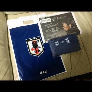 サッカー 日本代表 トラベルポーチ キリンチャレンジカップ コロンビア 非売品(記念品/関連グッズ)