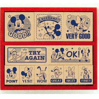 ディズニー(Disney)の即発送🌸英語版❤️ディズニー*ミッキー&フレンズ ごほうびスタンプ🍀(はんこ)