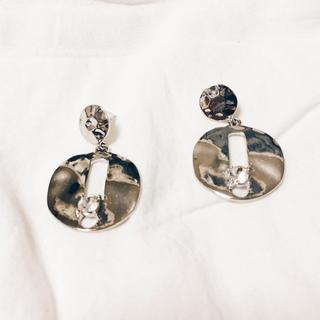 #107 ZERO SHAPE silver pierce(ピアス)