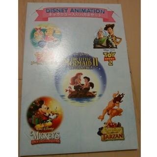 ディズニー(Disney)のディズニーキャラクター入りハガキセット(切手/官製はがき)