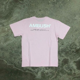 アンブッシュ(AMBUSH)のAMBUSH XL ロゴ Tシャツ ピンク pink アンブッシュ(Tシャツ/カットソー(半袖/袖なし))