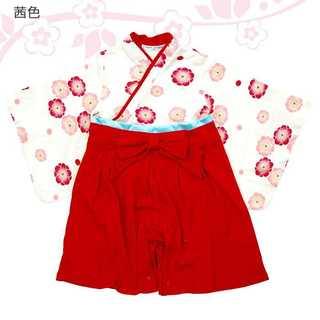 袴風 カバーオール ロンパース 靴下セット(和服/着物)