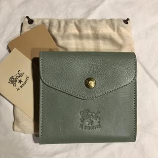 新品 イルビゾンテ 限定色 セージ  財布