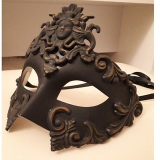 イタリア製 ベネチアンマスク(小道具)