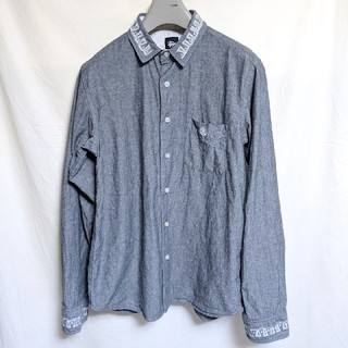 ステューシー(STUSSY)のステューシー刺繍入長袖シャツ(シャツ)