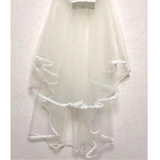 タカミ(TAKAMI)の新品 ★ タカミブライダル コーム付き レース ミドルベール(ヘッドドレス/ドレス)