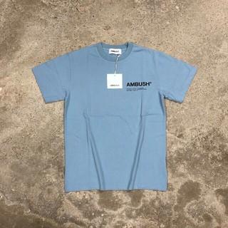 アンブッシュ(AMBUSH)のAMBUSH Tシャツ ブルー  2(Tシャツ/カットソー(半袖/袖なし))