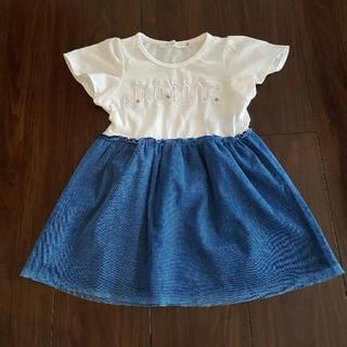 ザショップティーケー(THE SHOP TK)の☆ワンピース ドレス THE SHOP 100cm(ワンピース)