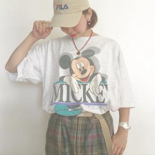 Disney - ディズニー ミッキー 古着  ビッグTシャツ