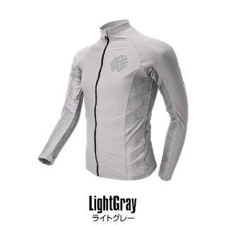 【新品・未使用】DRESS ラッシュガード ライトグレー Lサイズ (ウエア)
