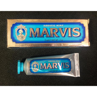マービス(MARVIS)のマービス AQUATIC MINT アクアティックミント歯磨き粉(歯磨き粉)