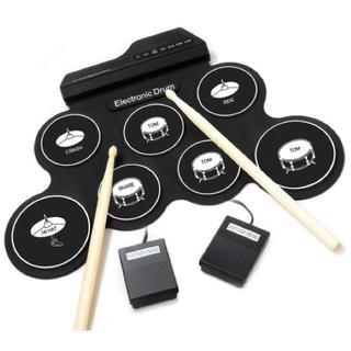 【人気★沸騰】電子ドラムセット ペダル スティック付き 練習・入門(電子ドラム)