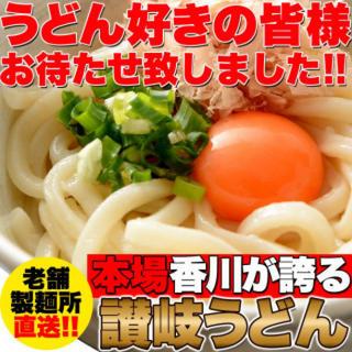 鎌田 醤油 特製ダシ醤油 6袋付き 讃岐うどん 6食分 600g 300g×2袋(麺類)